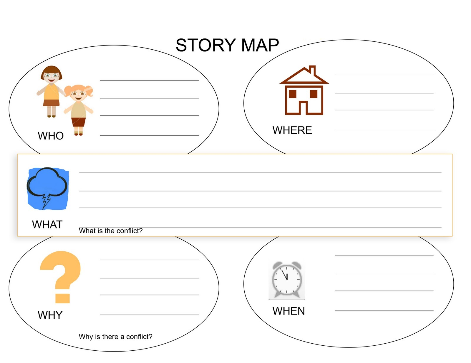 story worksheets for kindergarten activity