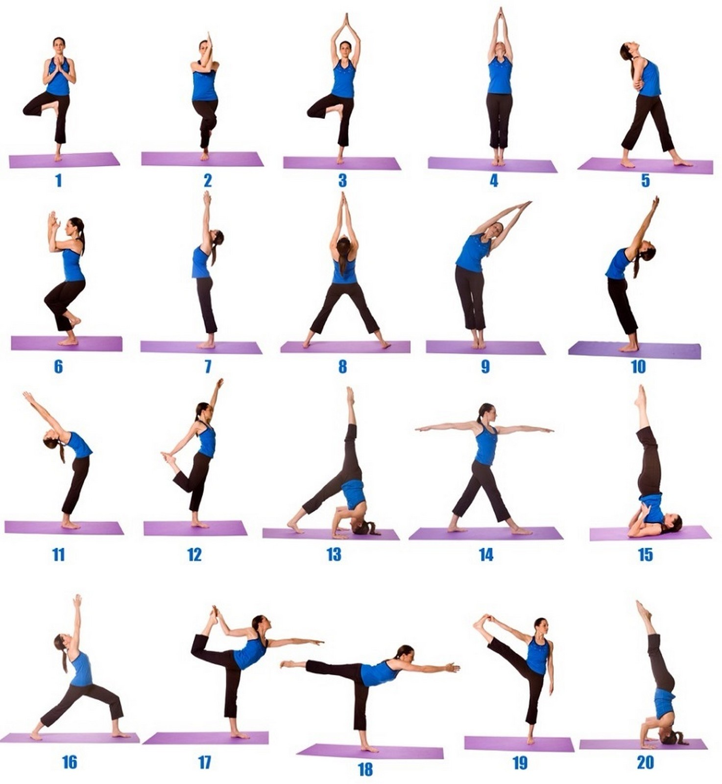 yoga at home for beginners free poses