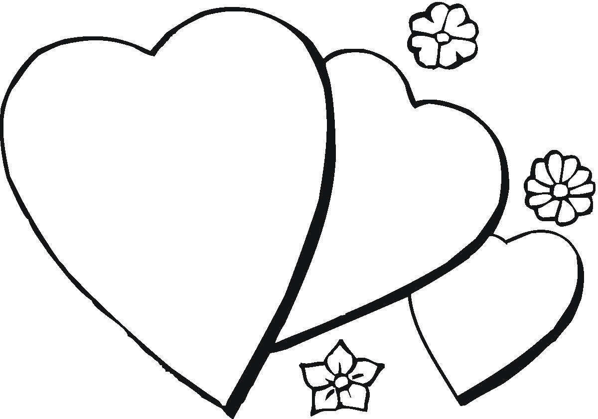 Heart Coloring Pages for Children