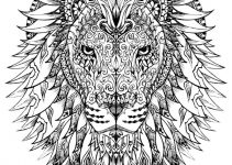 Free Adult Coloring Pages Animal