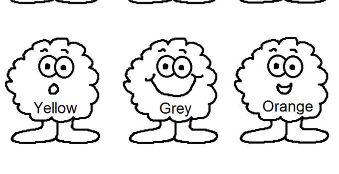 Kg Worksheets for Colour