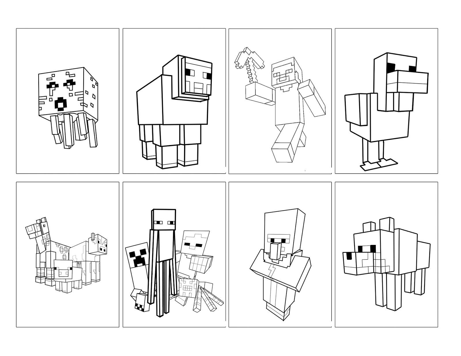 Minecraft Colors Book