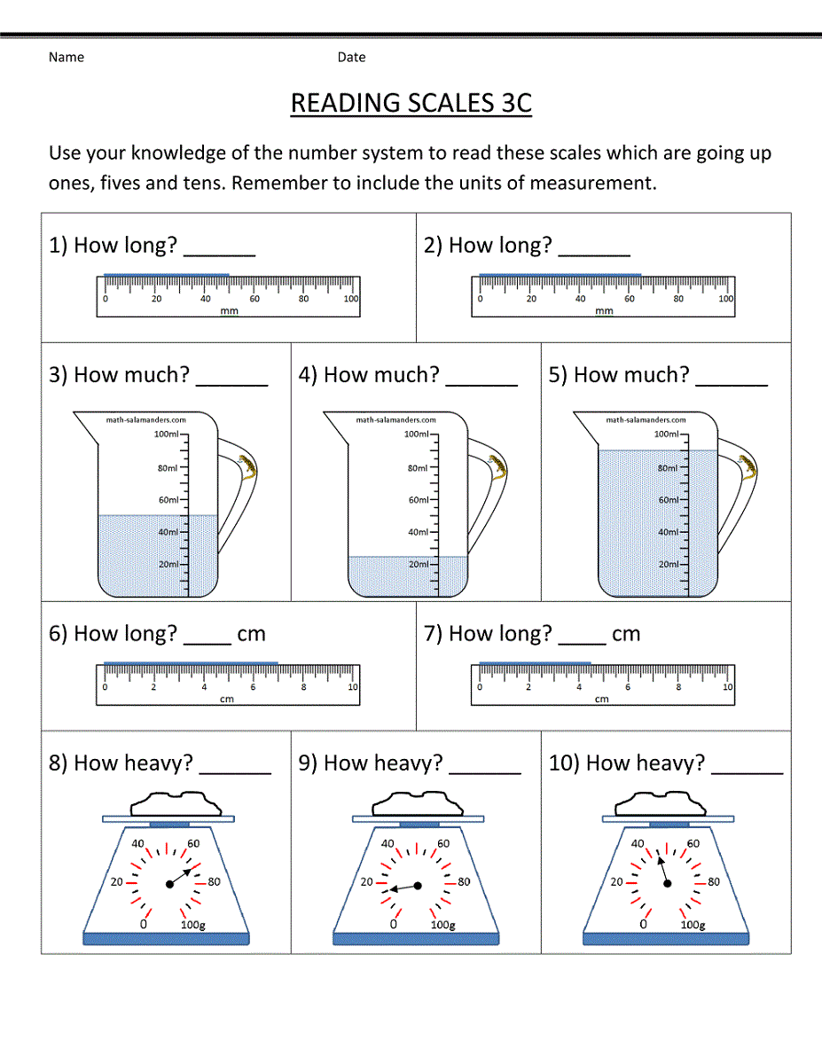 Printable Worksheets for Primary School | Learning Printable