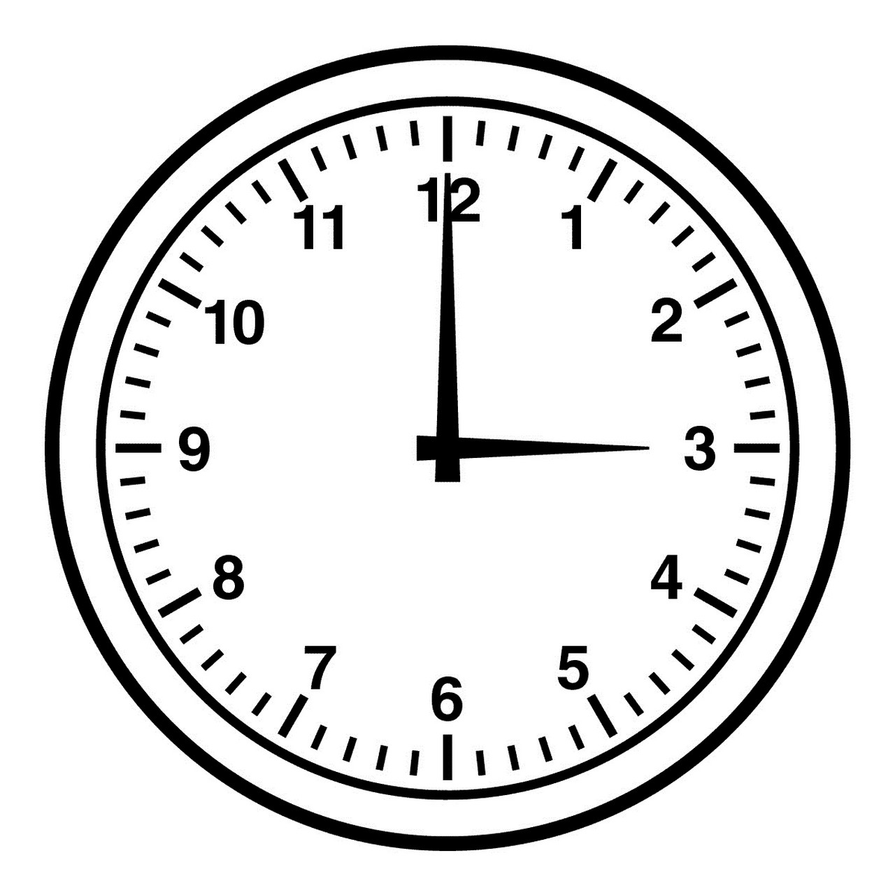 clock face with minutes printable free