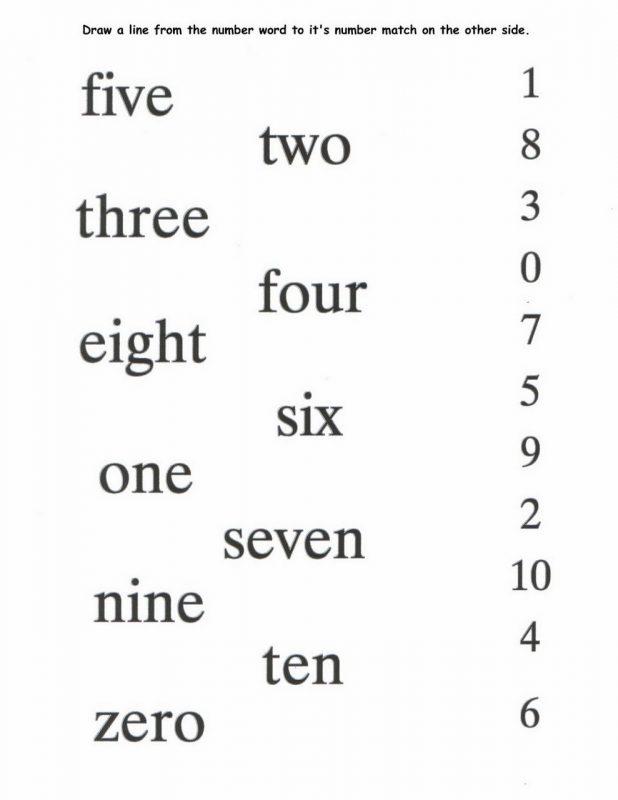 numbers to 10 worksheet fun