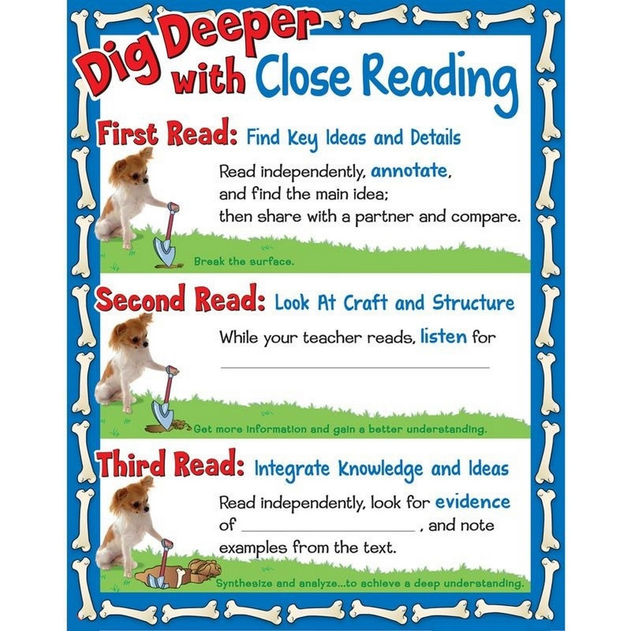 reading strategies free picture