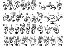 sign language chart page
