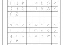tracing letters a-z worksheets fun
