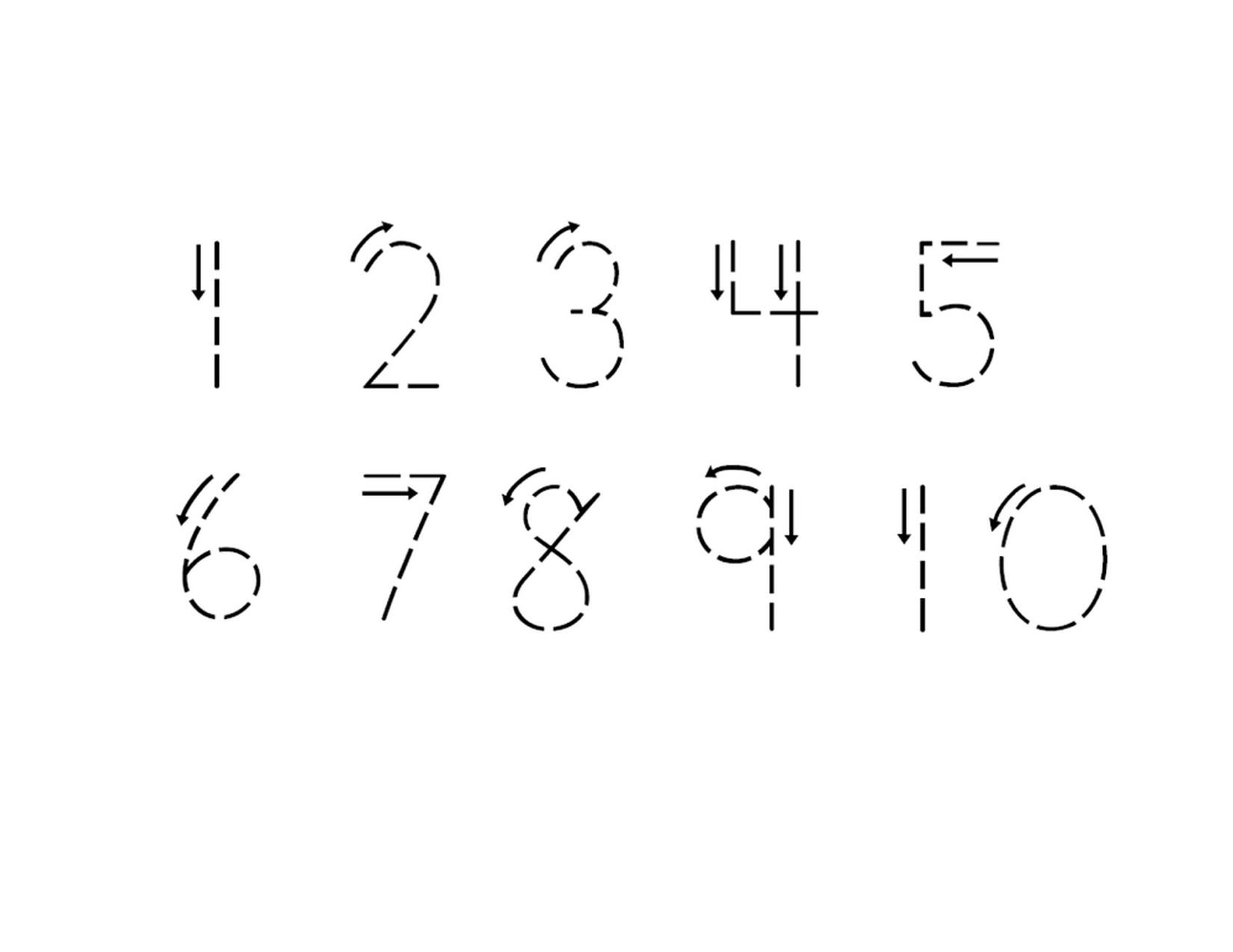 worksheet Number Tracing Worksheets 1-10 tracing numbers 1 10 worksheet learning printable easy