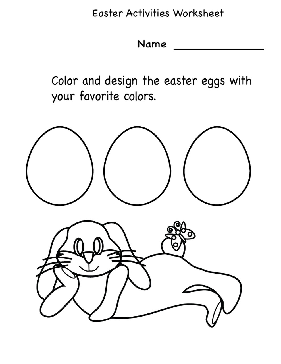 worksheets for kindergarten fun