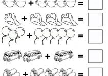 worksheets for kindergarten math