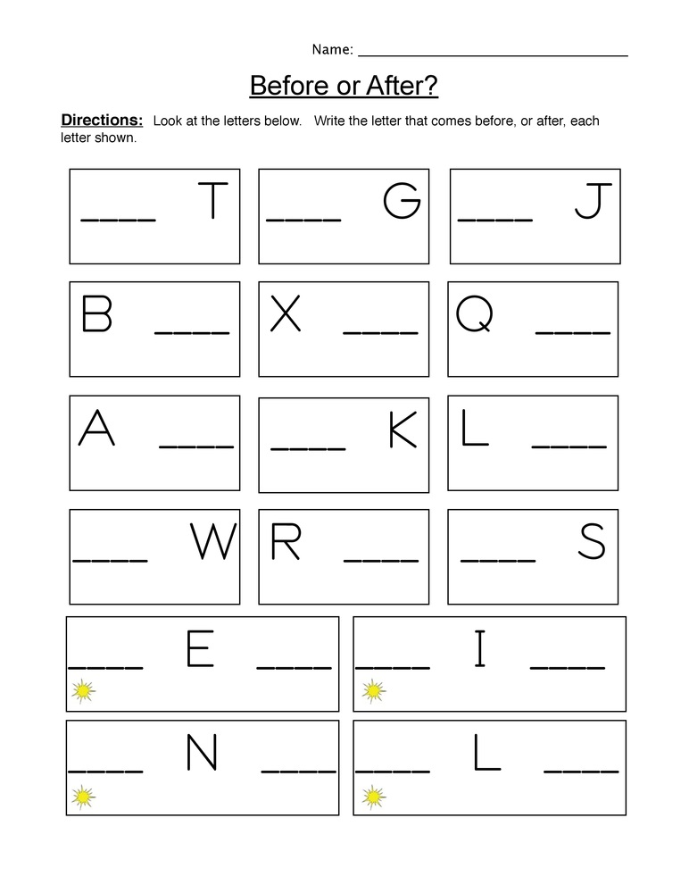1st Grade Writing Worksheets Alphabet