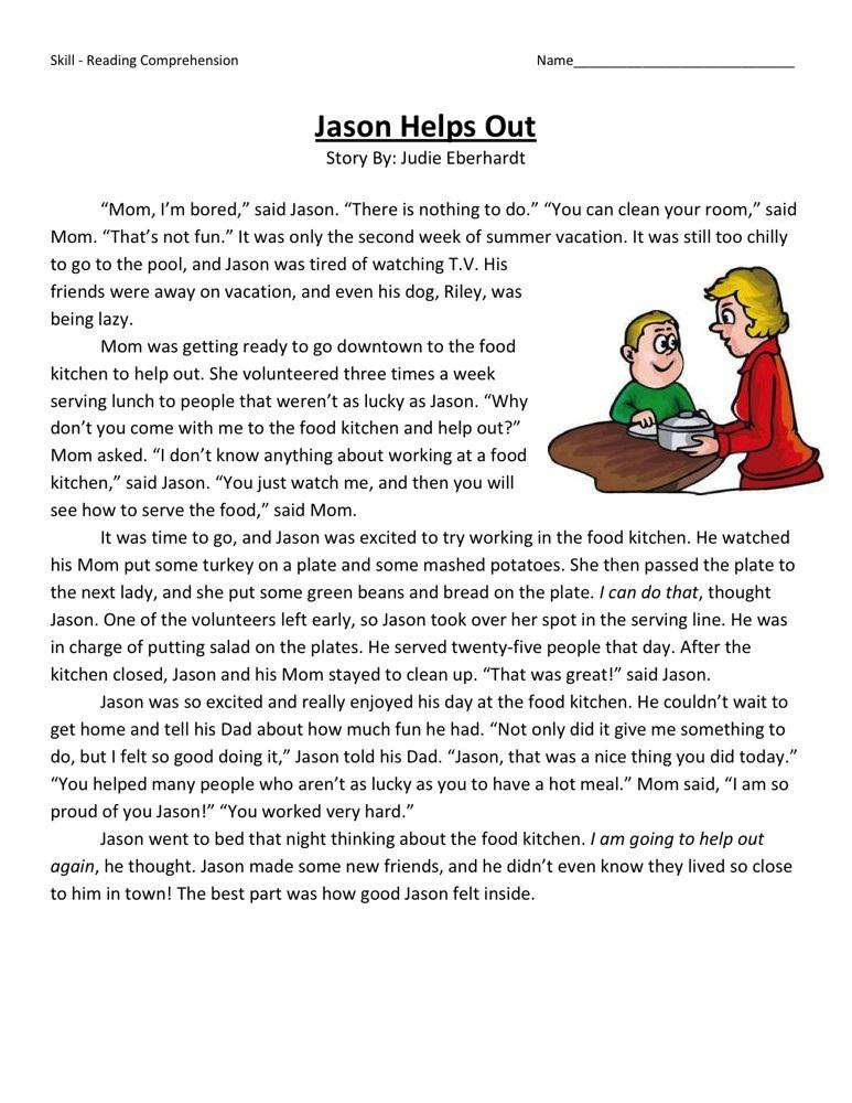 3rd Grade Worksheets Reading