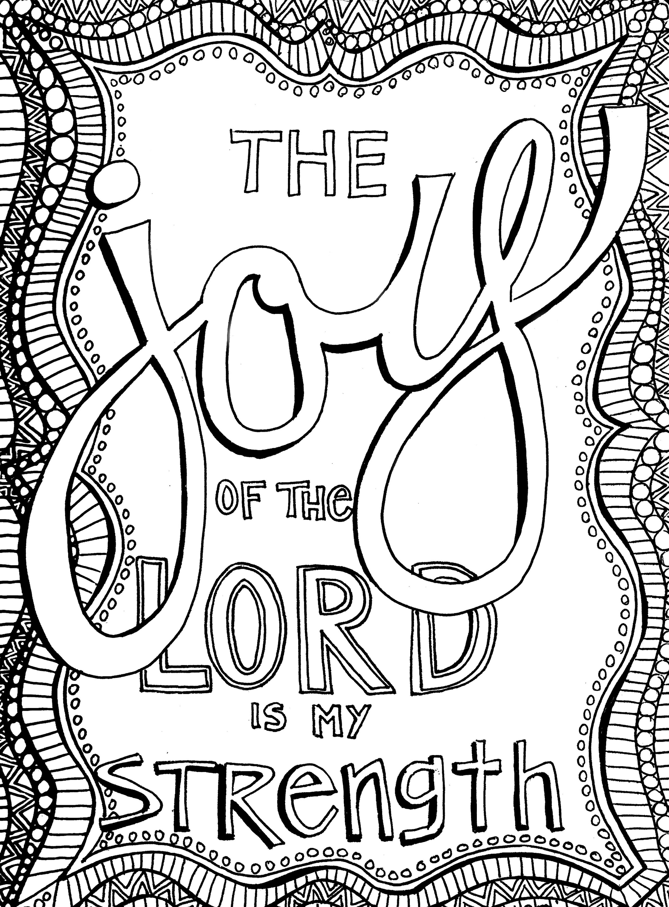 Christian Coloring Pages for All Ages Printable | Learning Printable