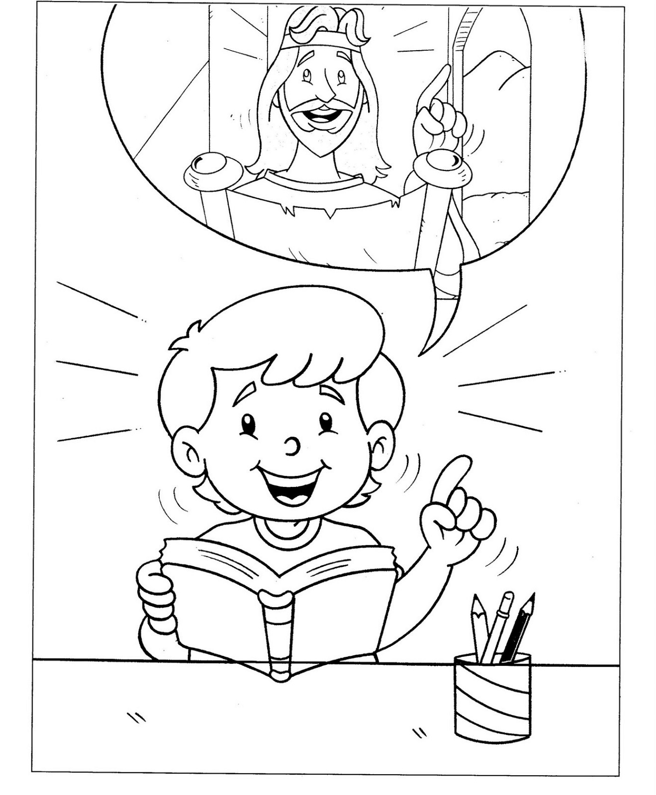 Christian Coloring Pages for Kids