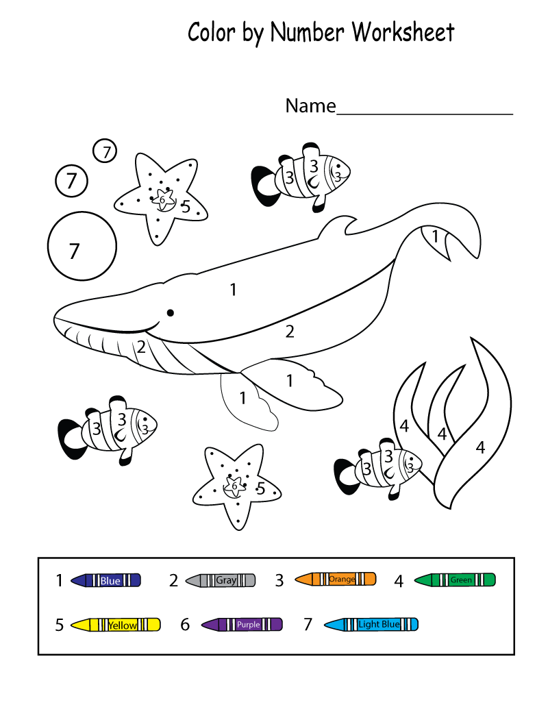 Color Activities for Kindergarten Comparing