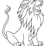 Coloring Activities for Kids Lion
