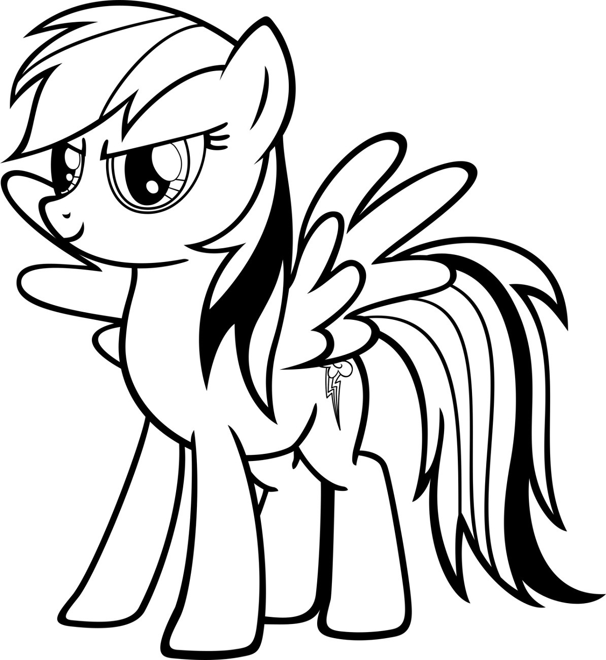 Coloring Pages for Toddlers to Print Dash