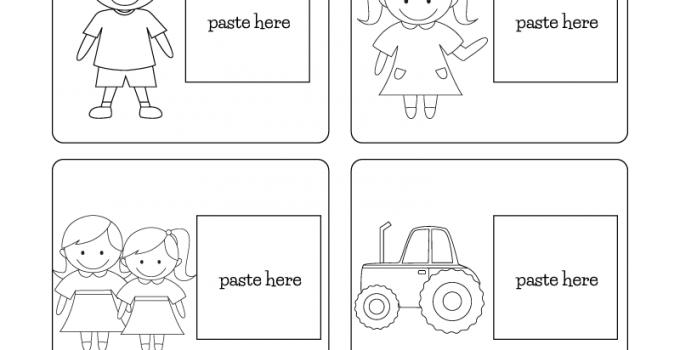 English Worksheets for Children Grammar