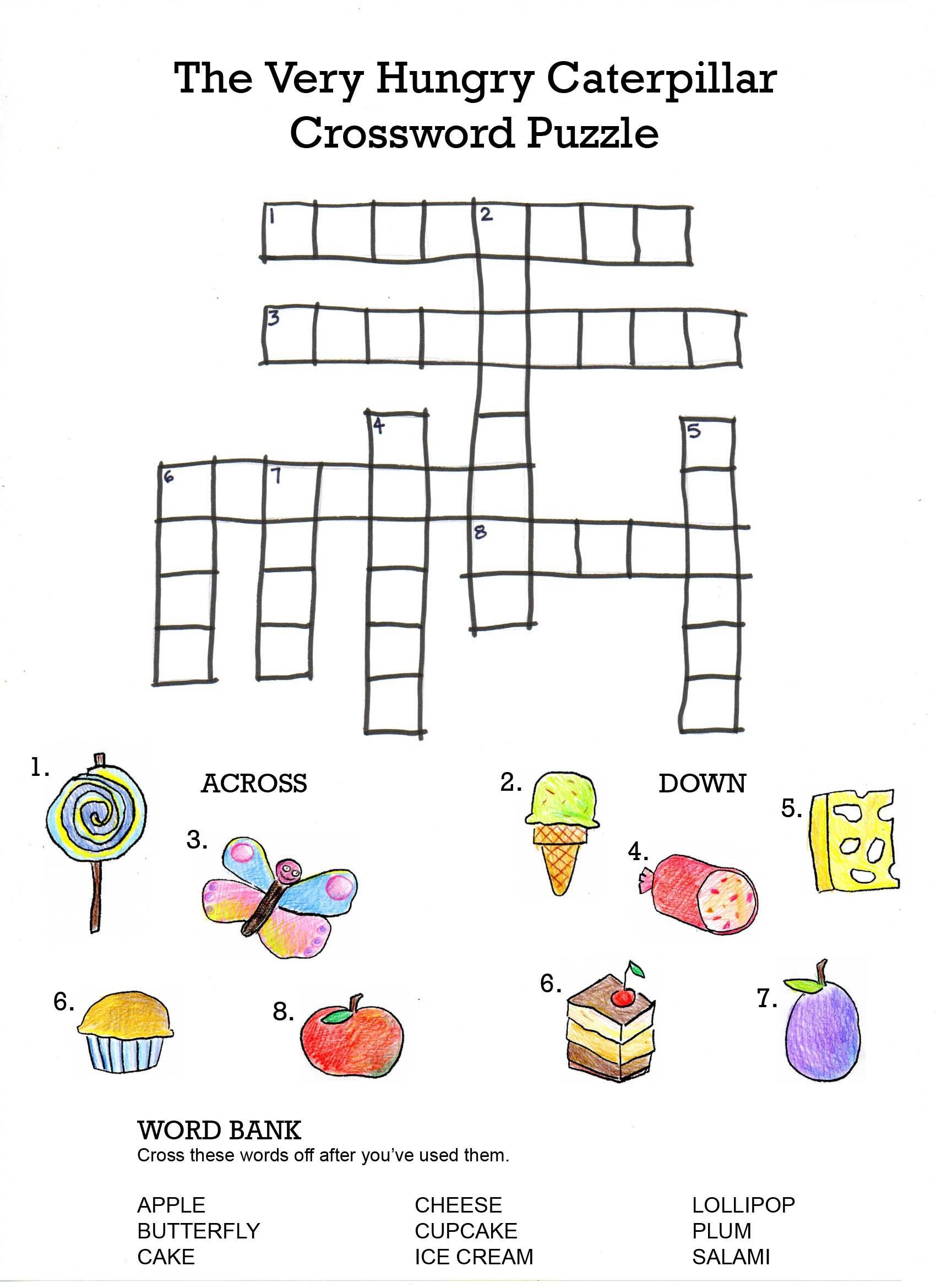 English Worksheets for Kids Puzzle