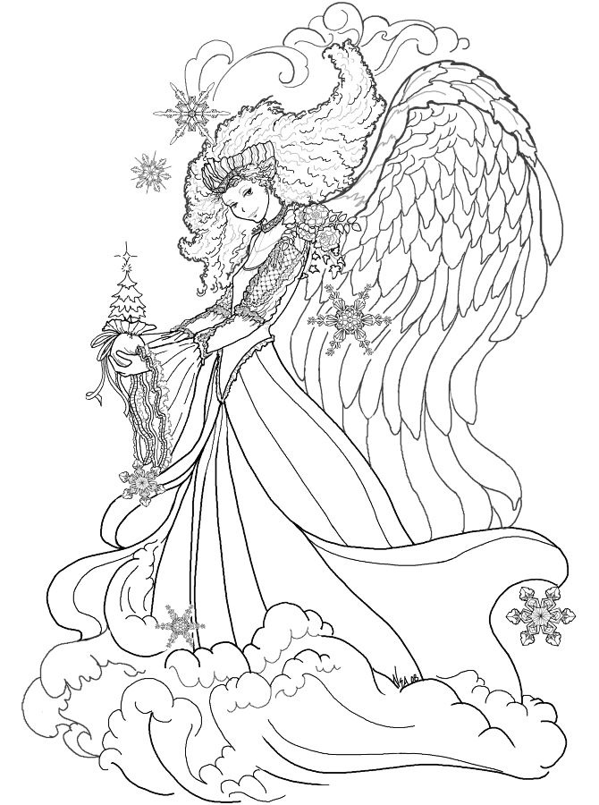 Fairy Coloring Pages for Teen