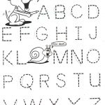 Homework for Kindergarten Worksheets Letter