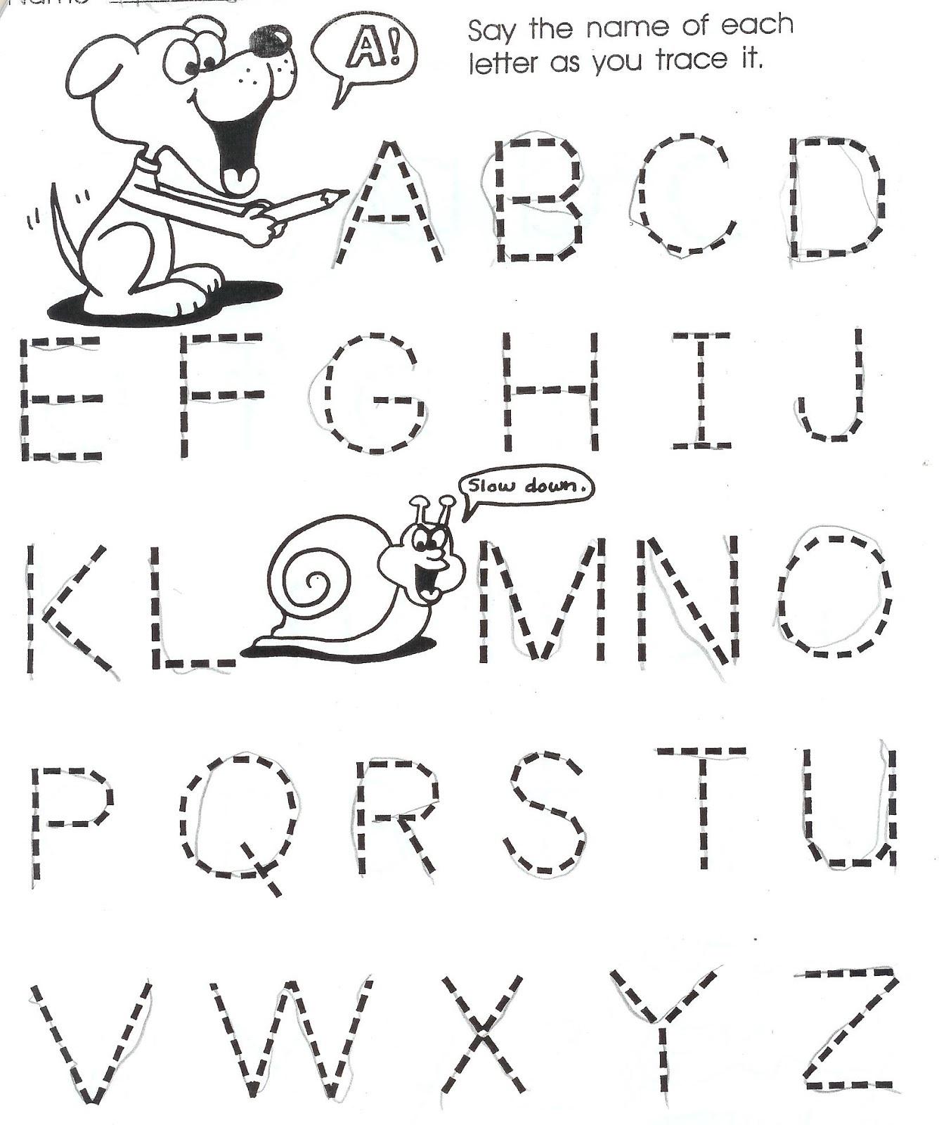 Homework for Kindergarten Worksheets Letter