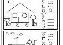 Prep Class Worksheets Shape