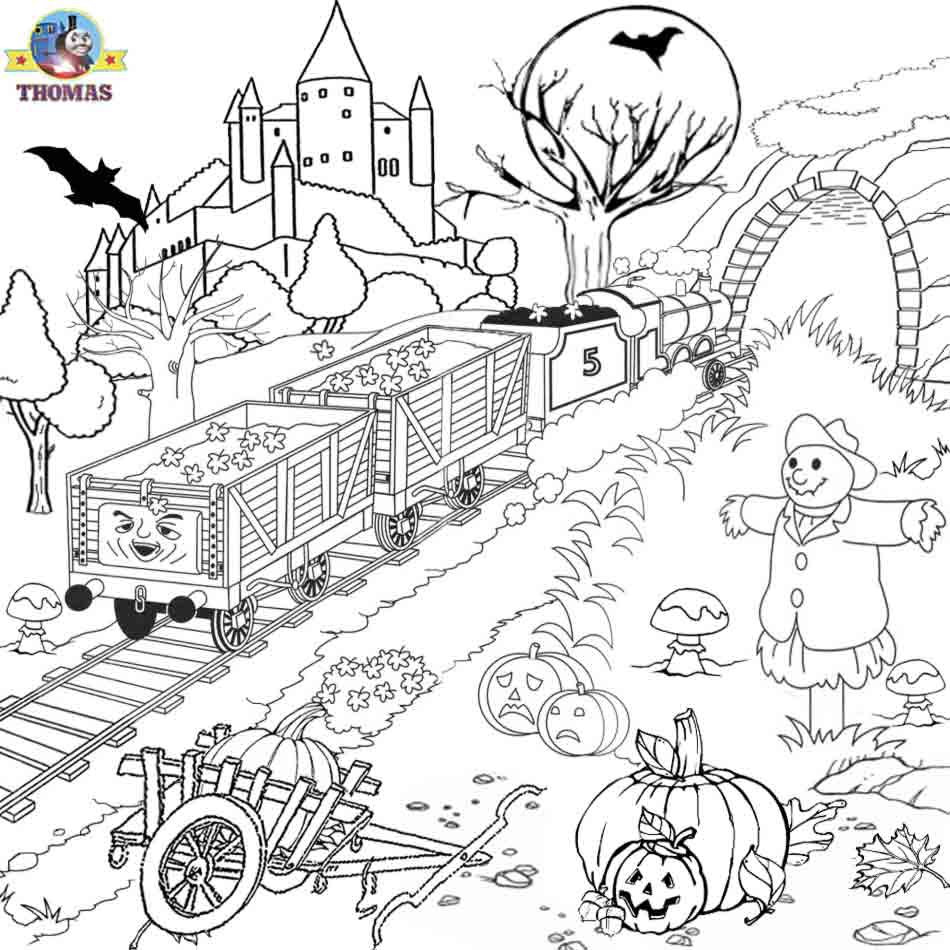 Train Coloring Pages | Learning Printable