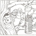 Winter Coloring Pages Adult