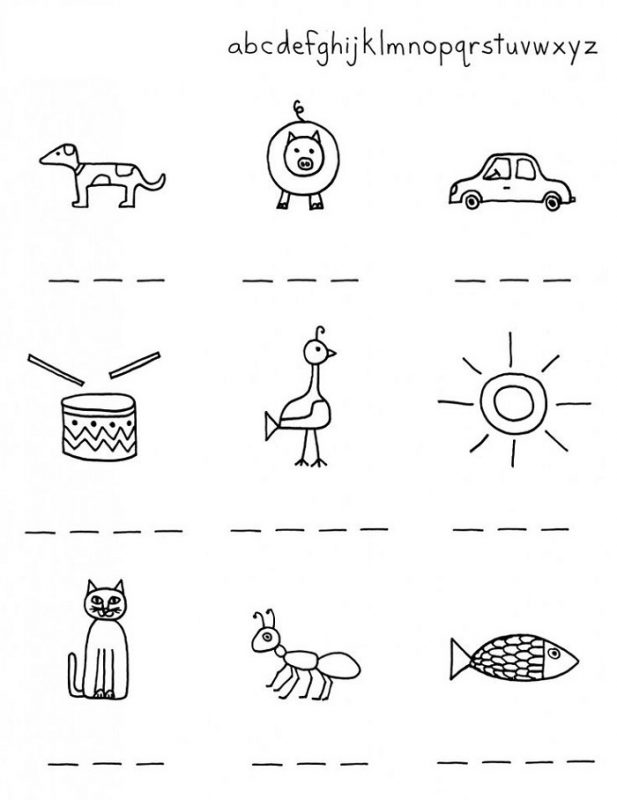 Worksheets for 6 Year Olds to Print Learning