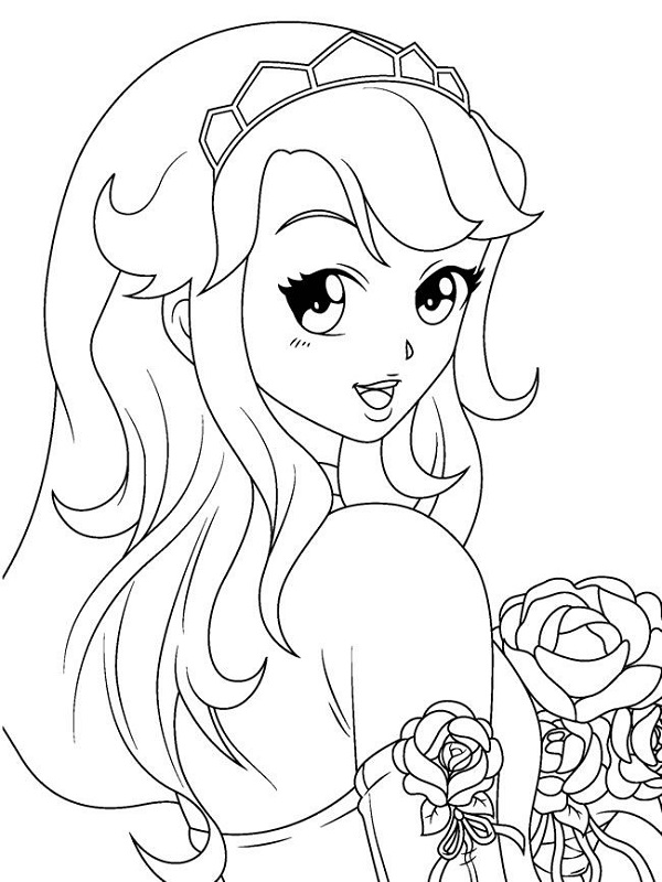 Book for Coloring Girls