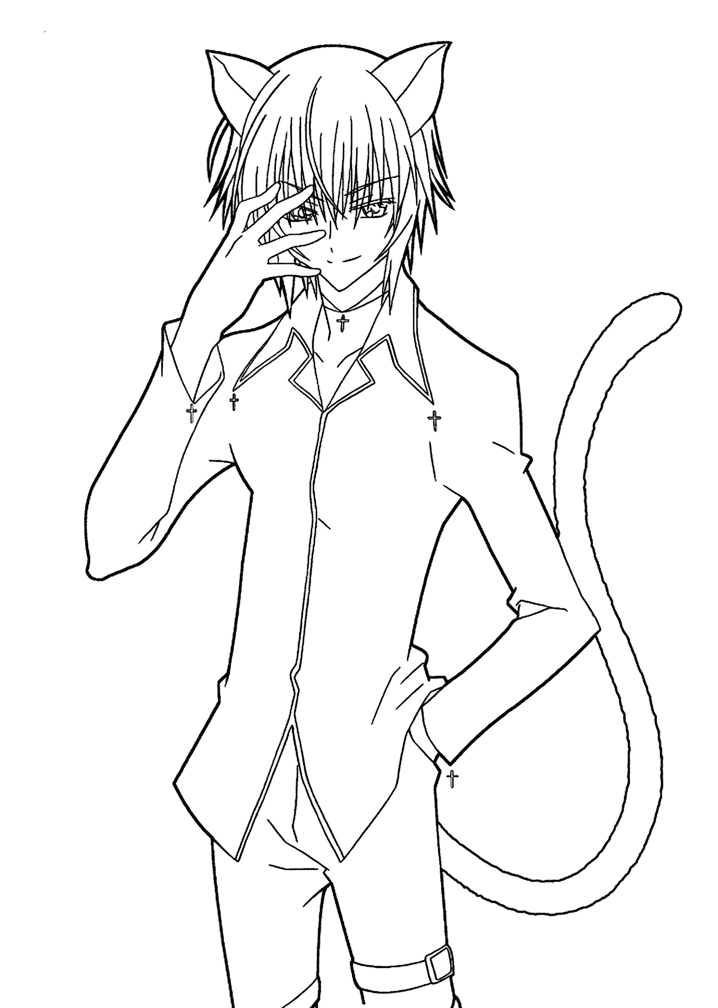 Coloring Pages for Boys Anime