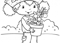 Coloring Pages for Girls Cartoon