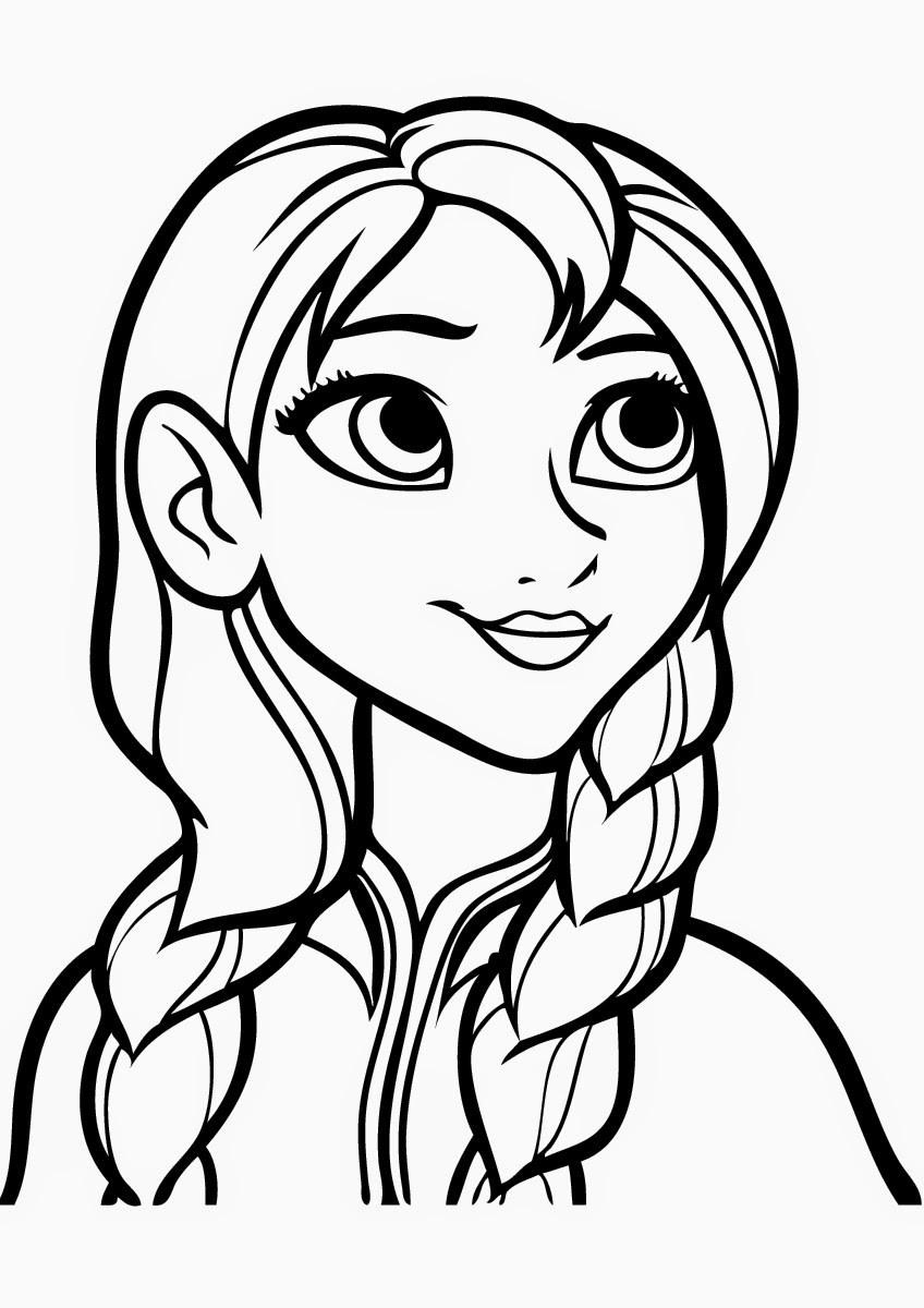 Coloring Pages for Girls Frozen – Learning Printable