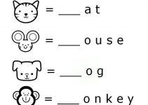Education Worksheets for Kindergarten