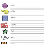 Esl Worksheets for Kids Activity