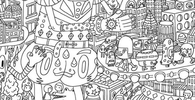 Full Coloring Pages Adults
