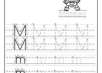 Learning to Write Worksheets Monkey