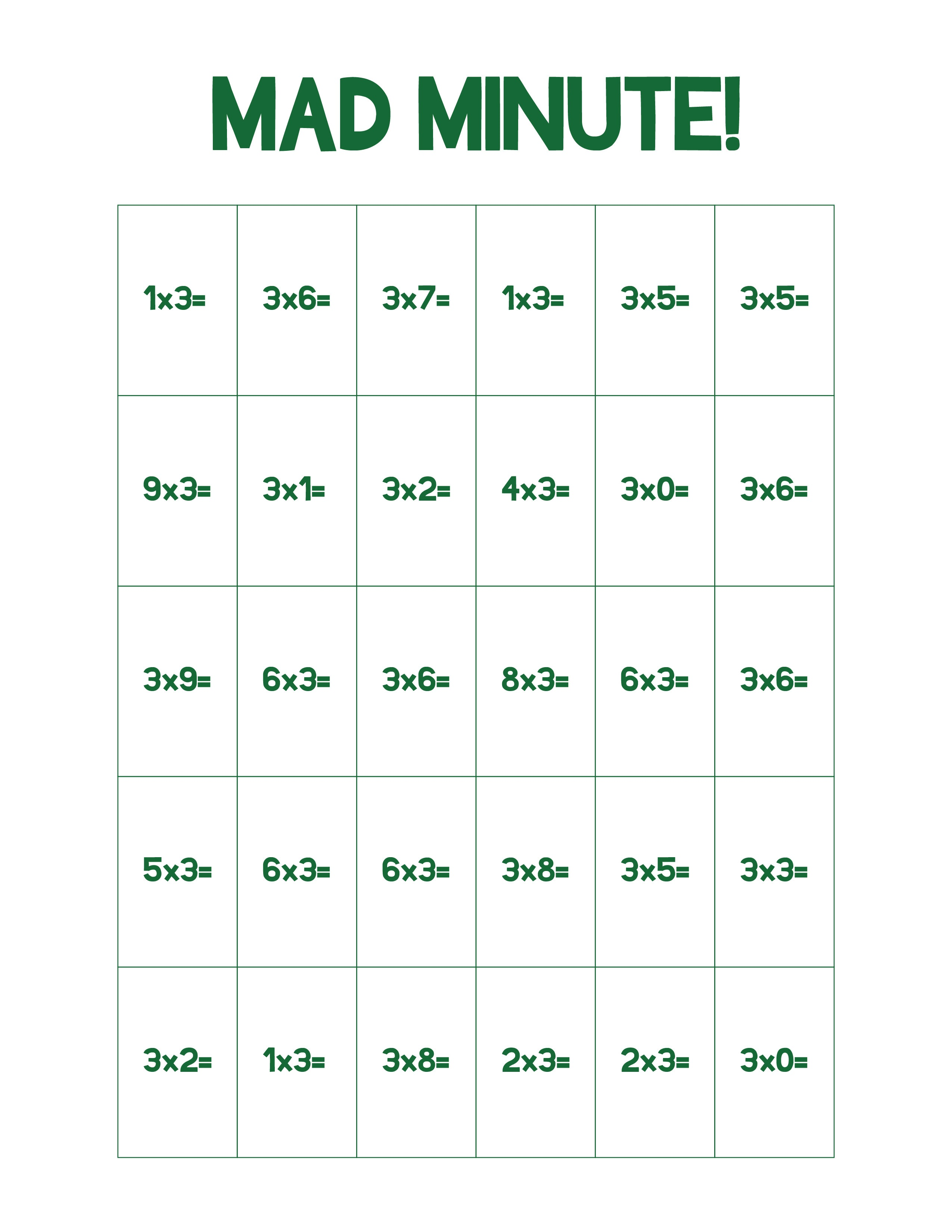 Math Games Worksheets Sudoku