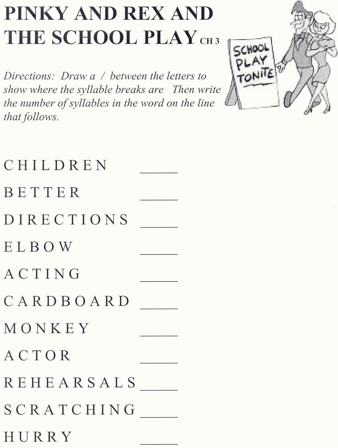 Play School Worksheets Free