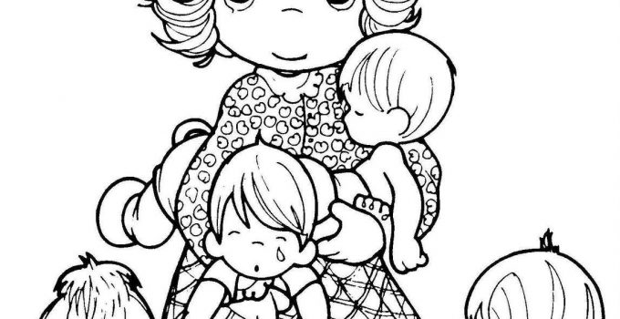 Precious Moments Coloring Pages for Adults