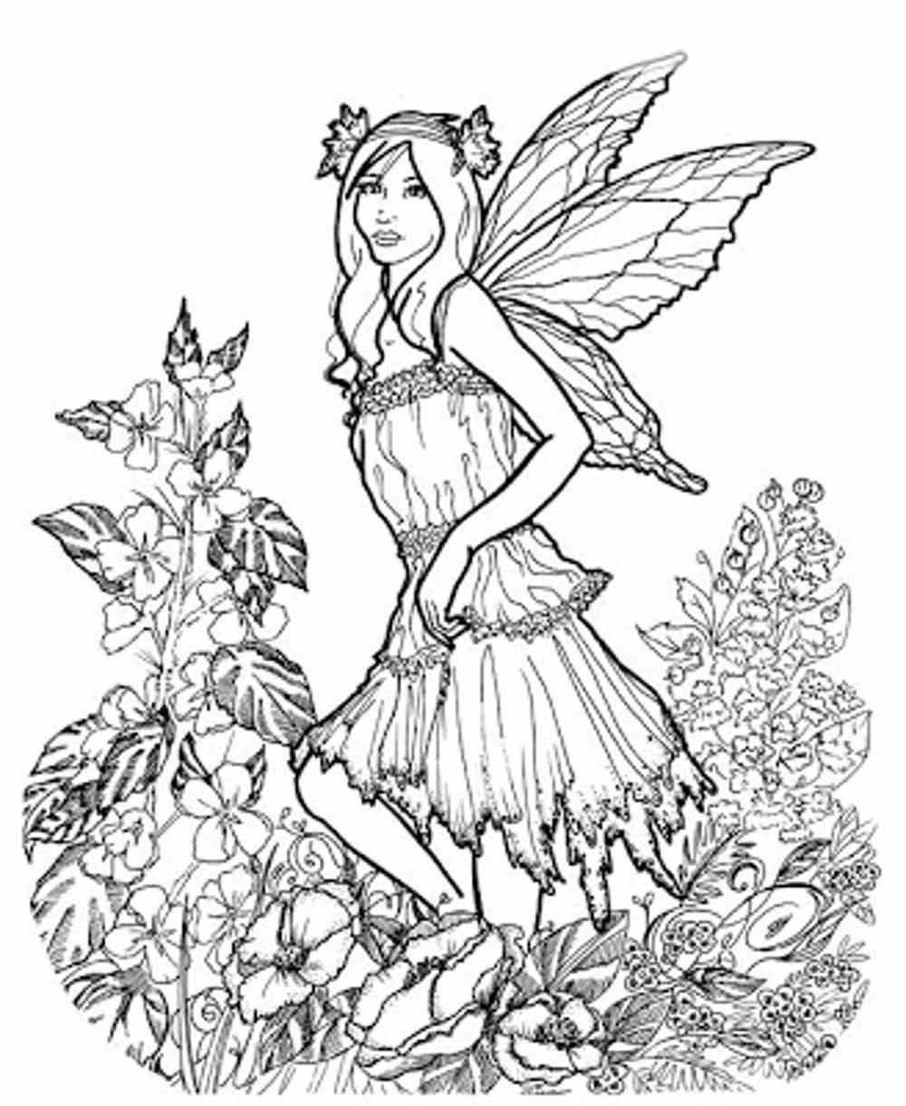 Spring Coloring Pages Adult