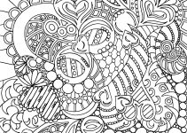 Advanced Coloring Pages for Teens