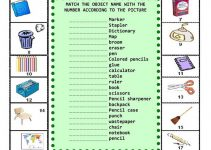 Classroom Worksheets Toddlers