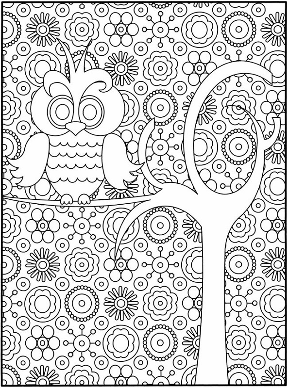 Design Coloring Pages for Teens