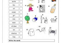 Elementary Worksheets Printable