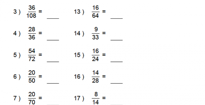Math Fractions Worksheets 6th Grade