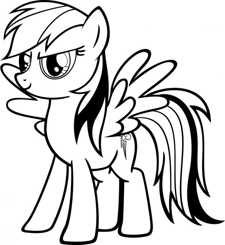 Free Childrens Coloring Pages Dash