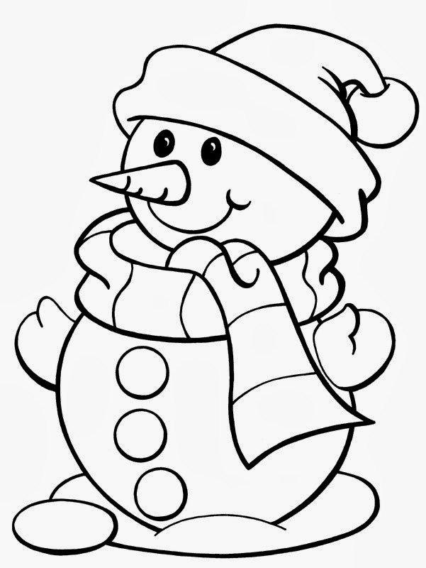 Free Coloring Pages for Kids to Print Christmas